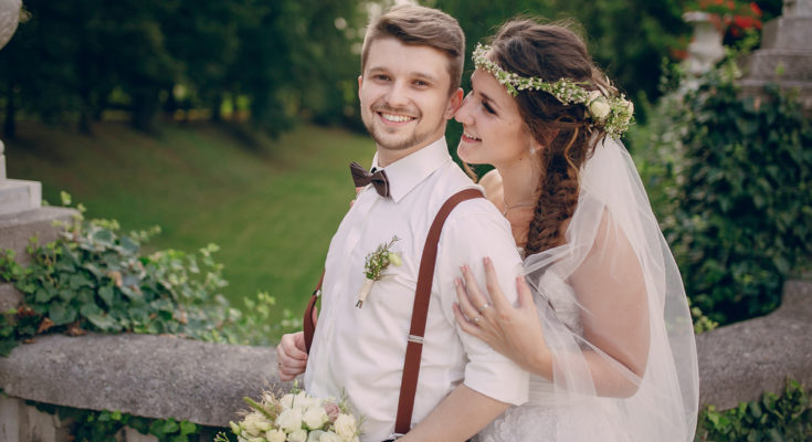 Bijoux fleuris, uniquement pour un mariage